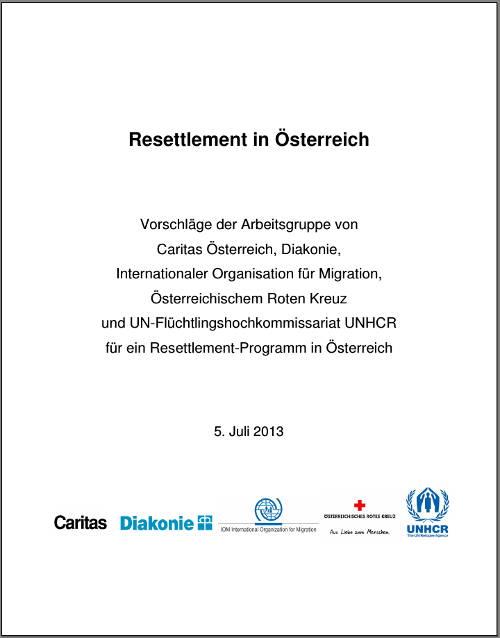UNO Resettlement Konzept für OE